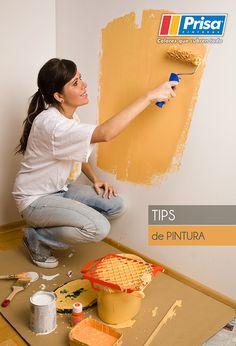 ¿Sabes que herramientas utilizar y cómo preparar la superficie? Consulta los #PrisaTips de Pintura: http://www.prisa.com.mx/pinterest/html/04_tipsPintura.html