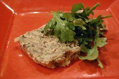 Recette de pâté aux champignons et noisettes, terrine végétarienne ou vegan...