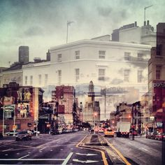 London + New York: A double exposure project
