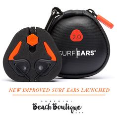 Available now at the Beach Boutique... Protect your ears whilst surfing, SurfEars 2.0 Let all the sound in but keep the water out!