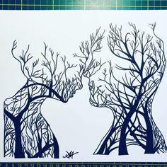 Dark Art Drawings, Pencil Art Drawings, Art Sketches, Zentangle Drawings, Doodle Drawings, Doodle Art, Depression Art, Stippling Art, Pen Art
