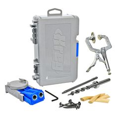 Joiners 20780: Kreg R3-Promo Jr Pocket Hole Jig Joinery System Kit + 2-Inch Face Clamp -> BUY IT NOW ONLY: $58.99 on eBay!