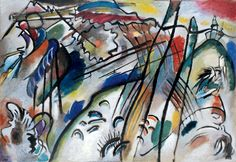 Wassily Kandinsky, Improvisation 28 on ArtStack #wassily-kandinsky-vasilii-vasil-ievich-kandinskii #art