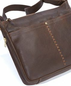 Coronado Leather…Terrain Messenger Bag
