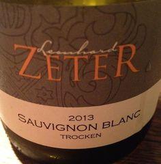 2013 Sauvignon Blanc trocken, Leonhard Zeter www.pfalzweinproben.de
