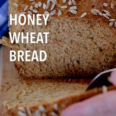 You are going to love this NO yeast, NO knead Honey Wheat Bread that can be ready in less than one hour! You are going to love this NO yeast, NO knead Honey Wheat Bread that can be ready in less than one hour! Bread Without Yeast, No Yeast Bread, No Knead Bread, Bread Baking, Whole Wheat Bread Recipe Without Yeast, Homemade Honey Wheat Bread Recipe, Wheat Berry Bread Recipe, Vegan Bread Recipe No Yeast, Irish Brown Soda Bread Recipe
