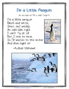 *Lil Country Kindergarten*: A Printables Challenge from Teaching Heart {I've Included Freebies! Penguin Songs, Penguin Craft, Penguin Day, Preschool Music, Preschool Themes, Preschool Crafts, Kids Crafts, Winter Fun, Penguin
