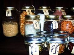 5 Ideas To Organize Spice Storage In Mason Jars | Shelterness