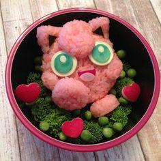 This Pokemon-themed Jigglypuff bento box is adorable!