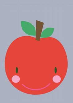 Greeting #card #apple by Studio Stift from www.kidsdinge.com https://www.facebook.com/pages/kidsdingecom-Origineel-speelgoed-hebbedingen-voor-hippe-kids/160122710686387?ref=hl #kidsdinge
