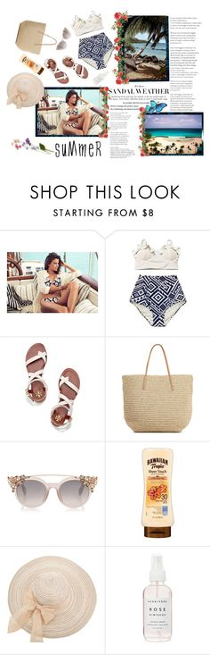 """""""Summer"""" by smajicelma ❤ liked on Polyvore featuring Tory Burch and Target"""