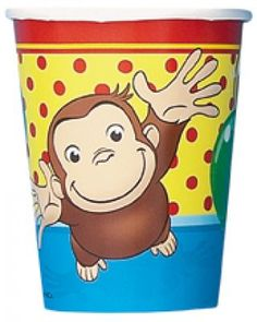 Curious George Cups 8 Pack – First Birthday Supplies Curious George Party, Curious George Birthday, Birthday Supplies, Party Supplies, First Birthday Parties, Birthday Party Themes, Birthday Cakes, 2nd Birthday, George Kids