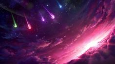 Star Guardian Falling from the Sky League of Legends Wallpaper