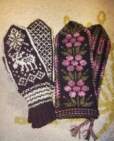 Fair Isle Knitting Patterns, Wrist Warmers, Mittens, Gloves, Inspiration, Fingerless Mitts, Biblical Inspiration, Wristlets, Fingerless Mittens