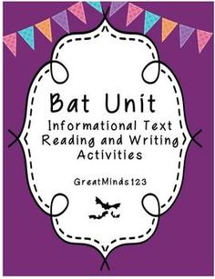 Great Unit for teaching informational text and informational/expository writing
