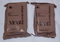 Homemade MRE's for Preppers | Meals Ready-To-Eat are a great help for any emergency situation, learn how to make it - easy DIY tutorial with pictures and videos. | Survival Life : http://survivallife.com/homemade-mres-for-preppers/