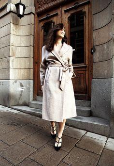 soft coat & Valentino | Sania Claus Demina | Damernas Värld