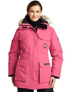women's Canada Goose' expedition parka summit pink