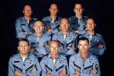 """Neil Armstrong got selected in a second group of astronauts at NASA in They called themselves the """"Next Nine"""" Astronauts In Space, Nasa Astronauts, Pete Conrad, Apollo Space Program, Hubble Space Telescope, Nasa Space, Apollo Missions, Nasa History, Neil Armstrong"""