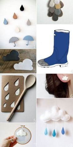 Spring Showers! Such cute ideas