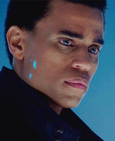 Dorian - Almost Human (Michael Ealy) The technology in this show was so good.