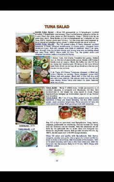 Clean Eating Recipes, Diet Recipes, Recipies, 28 Dae Dieet, Dieet Plan, Tuna Salad, 28 Days, Afrikaans, Eating Plans