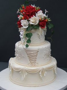 Five Star Bakeshop Photos, Wedding Cake Pictures, North Carolina - Charlotte, Asheville, and surrounding areas