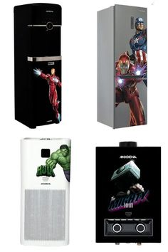 The latest line of items mainly features three iconic characters from the Marvel franchise including Iron Man, Captain America and Black Widow. Channeling the iconography of these unique characters your home could mutate into a Marvel Studio scene. Smart Home Appliances, Best Espresso Machine, Iconic Characters, Marvel, Black Widow, Captain America, Iron Man, Scene, Studio