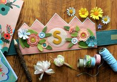 Summer Princess Initial Crown | by maureencracknell
