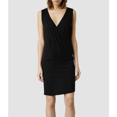 AllSaints Kerin Dress (£88) via Polyvore