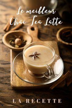 Chaï Tea Latte, Afternoon Tea, Voici, Sweet Recipes, Tea Time, Panna Cotta, Smoothies, Tea Cups, Food And Drink
