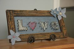 Adventures of D and V: Adventures in Crafts: Love Nail Art