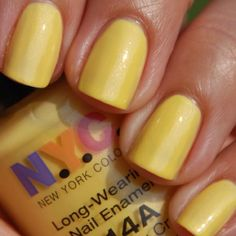 Another Yellow that I luv, NYC Taxi Yellow.