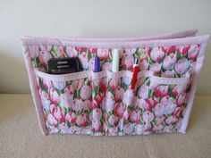 Organizador ou refil de bolsa em tecido