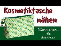 Sewing instructions Sewing cosmetic bag with pattern- Nähanleitung Kosmetiktasche nähen mit Schnittmuster Freeebook – Free sewing instructions and sewing pattern for a small cosmetic bag. Good sewing project for beginners & a quick-sewed gift. Beginner Knitting Projects, Easy Sewing Projects, Sewing Projects For Beginners, Knitting For Beginners, Sewing Tutorials, Sewing Tips, Sewing Hacks, Sewing Patterns Free, Free Sewing