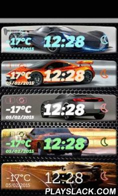 Car Clock Weather Widget  Android App - playslack.com , Get something new for your Android™ device! Pimp up your phone with ☼ Car Clock Weather Widget ☼ and customize it according to your taste and style. If you love sport cars, get ready for the best ride in your life! Download a unique app which is a digital clock widget with date and a weather forecast widget at the same time and enjoy the fantastic car backgrounds that will leave you out of breath.Car Clock Weather Widget Features: ☼ A…