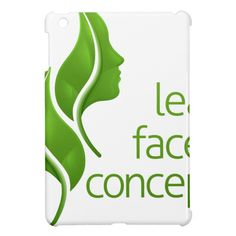 Leaf Faces Concept iPad Mini Covers Custom Brandable Electronics Gifts for your buniness #electronics #logo #brand