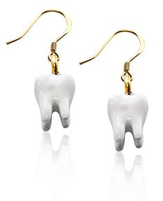 Shop a great selection of Whimsical Gifts Dental Charm Earrings. Find new offer and Similar products for Whimsical Gifts Dental Charm Earrings. Charm Jewelry, Jewelry Shop, Fashion Jewelry, Fine Jewelry, Women's Fashion, Gifts For Dentist, Women's Earrings, Silver Earrings, Silver Charms