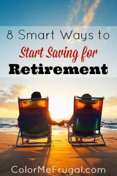 Looking for ideas on how to jump start your retirement savings? Check out these 8 smart ways to start saving for retirement!