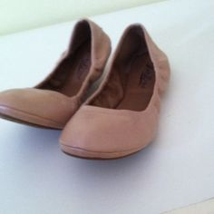 Lucky brand flats Good condition. Only worn a few times. Lucky Brand Shoes Flats & Loafers