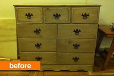 Before & After: Jenny's Dresser-Turned-Media Storage Makeover