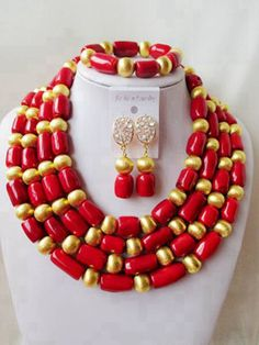 Find More Jewelry Sets Information about 2016 Fashion red african coral beads jewelry set nigerian wedding african beads Bridal jewelry Sets Free shipping SS 053,High Quality jewelry 2010,China jewelry storage Suppliers, Cheap jewelry roll travel case from Chinese jewelry import and export co., LTD on Aliexpress.com