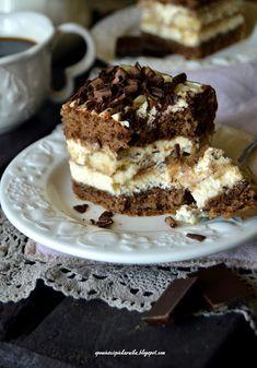 Opowieści z piekarnika: Tiramisu na biszkopcie Tiramisu, Food Cakes, Baked Goods, Cake Recipes, Baking, Ethnic Recipes, Cakes, Easy Cake Recipes, Kuchen