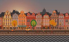 Amsterdam City Wallpaper, HappyLWP