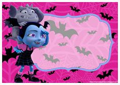 Mamá Decoradora: Kit Imprimible Vampirina Gratis Halloween Birthday, 3rd Birthday Parties, Birthday Party Invitations, 2nd Birthday, Vampire Party, Snow White Birthday, Disney Junior, Disney Jr, Invitation Birthday