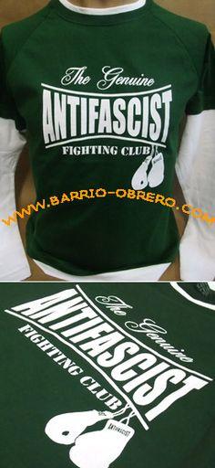 Camiseta manga larga (Long sleeves) Pedidos (worldwide orders): www.barrio-obrero.com y síguenos en: www.facebook.com/AntifascistFightingClub www.facebook.com/DistribuidoraBarrioObrero