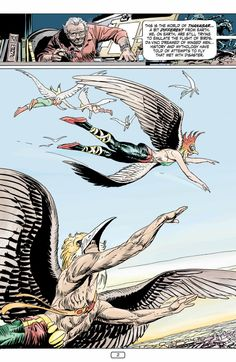 Joe Kubert Presents # 1 featuring Hawkman. - For the wings!