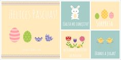 Easter Activity Cards in Spanish for kids - SpanglishBaby.com
