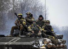 Новости АТО за 15.02: В первый день перемирия боевая активность боевиков снизилась. Карта АТО - Новости АТО – все подробности войны в Донецкой и Луганской областях - ТСН.ua