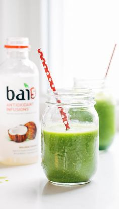 Simple Coconut Green Smoothie
